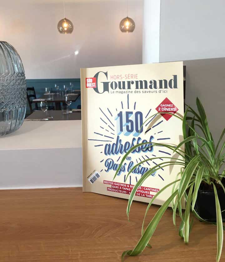 Léonie dans le Hors-Série Gourmand du Sud-Ouest 2019